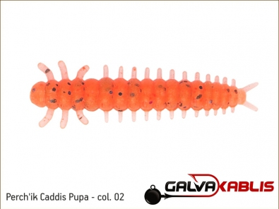 Perchik Caddis Pupa col 02