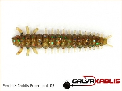 Perchik Caddis Pupa col 03